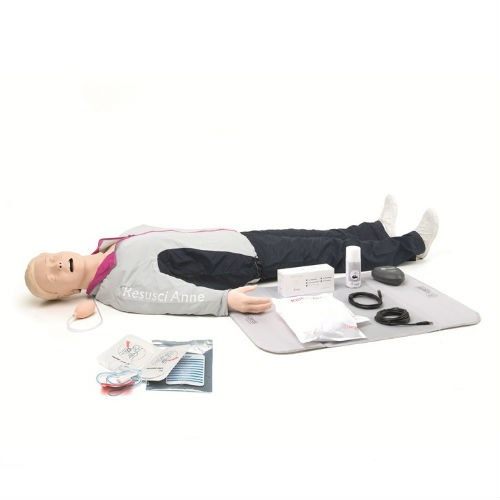 Resusci Anne QCPR AED AW Full Body in Trolly Suitcase