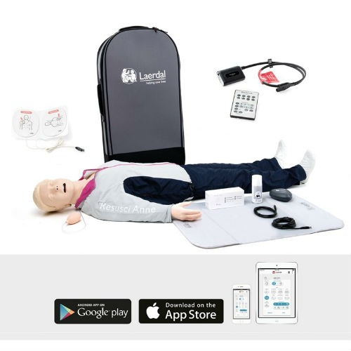 Resusci Anne QCPR AED with ShockLink and Airway Head