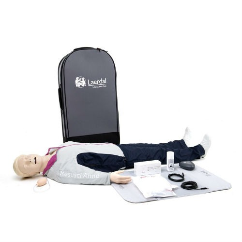 Resusci Anne QCPR AW Full Body in Trolley Suitcase
